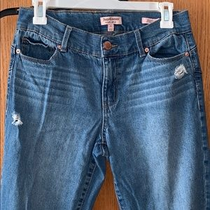 Juicy Couture skinny ankle jeans